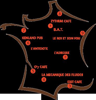 Carte de France Happysurimihours 2015