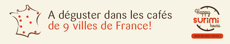 A déguster dans les cafés de 9 filles de France !